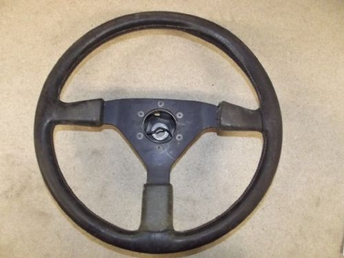 Steering wheel, Mazda MX-5 mk1, Momo, 370mm, with boss, USED 37